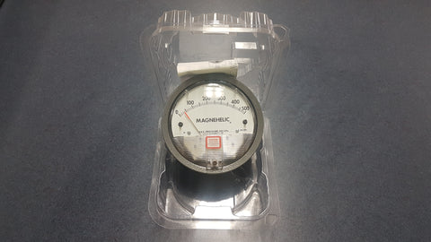 Magnehelic Spray Booth Pressure Gauge S-500PA