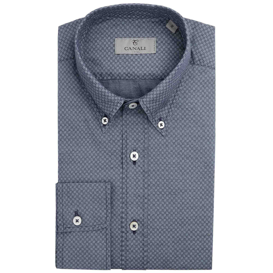 CANALI SMALL DOT SHIRT