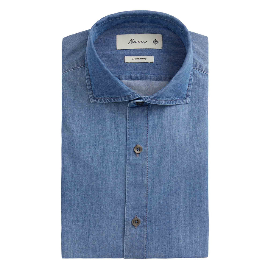 HENRY LIGHT DENIM SHIRT