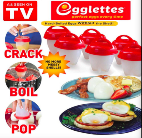 Egglettes Egg Cooker Hard Boiled