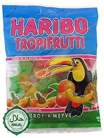 Haribo Tropifrutti (Imported from Turkey) 160g