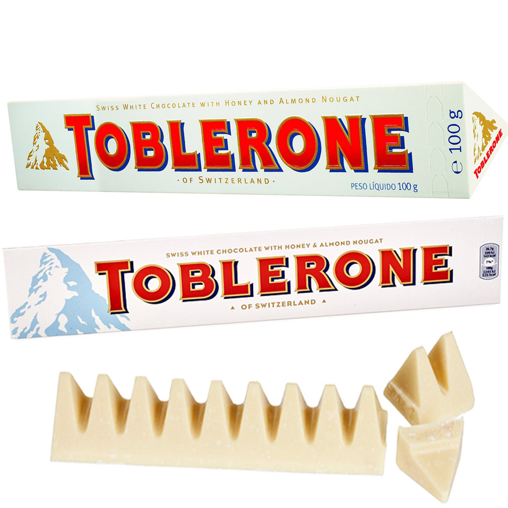 Toblerone White Milk Chocolate