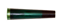 "ARBOR,URETHANE 1"" X 4"",1/2-13 THD, GREEN W/SCREW - 700401"
