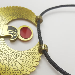 Golden Falcon Necklace