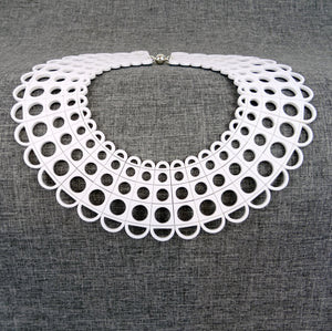 Duchess Collar in White