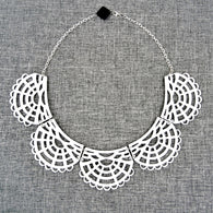 Victorian Necklace White