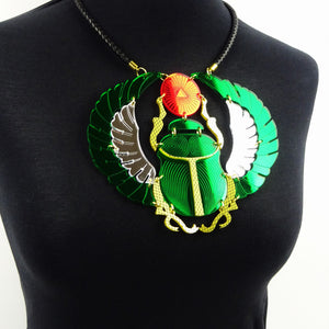 Scarab Beetle Necklace