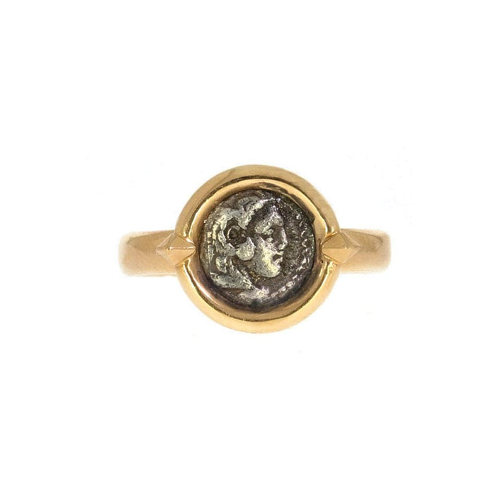 Alexander the Great Coin Ring