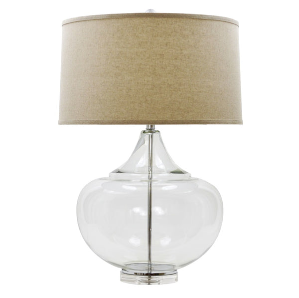 Mamba Clear Glass Table Lamp