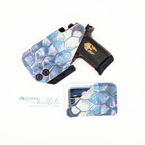 Mermaid Tarpon Kydex Wallet