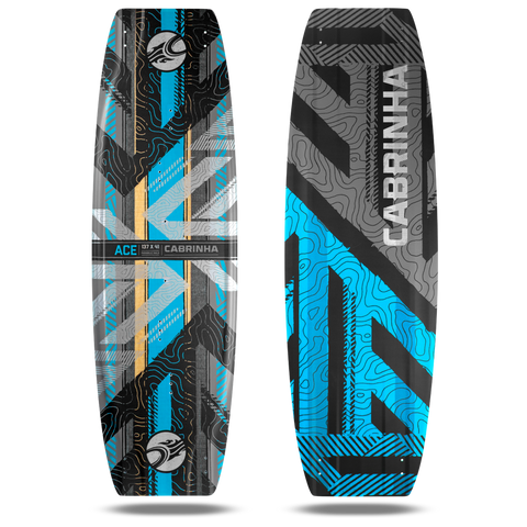 Cabrinha Ace Kiteboard 2017 - Blue - Rapid Surf & Ski