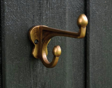 Brass turtle wall & door hooks  -