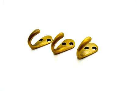 Boat style Brass wall hooks. TFMH602