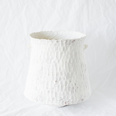 Pinched Ceramic Vessel By Adelaide Ceramicist Connie Augoustinos