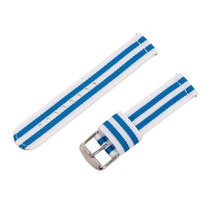 White / Light Blue RAF NATO Strap
