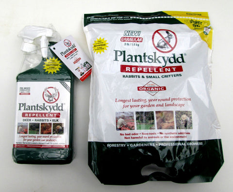 Plantskydd Repellent for Deer, Elk, Rabbits, & Voles - Concentrate  & Granular