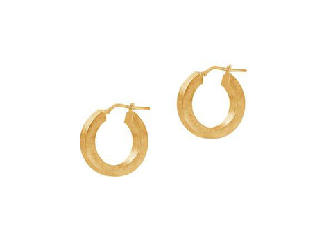 La SQUARE SATINA Hoops