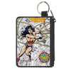 Canvas Zipper Wallet - MINI X-SMALL - WONDER WOMAN Lasso Action Pose/Logo/Comic Scenes