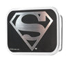 Superman Framed Reverse Brushed Silver - Chrome Rock Star Buckle