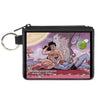 Canvas Zipper Wallet - MINI X-SMALL - Superman Wonder Woman Issue #14 Sitting Under Tree Variant Cover Pose