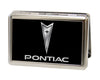 Business Card Holder - LARGE - Pontiac FCG Black Silver