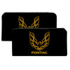 Canvas Snap Wallet - Firebird PONTIAC Logo Black Golds