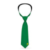 Necktie Standard - AQUAMAN Classic Icon Monogram Greens Gold