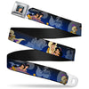 Jasmine CLOSE-UP Full Color Seatbelt Belt - Aladdin & Jasmine Scenes Webbing