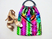 Disco sequined bag