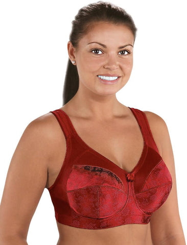 Cortland Intimates Full Figure Super Support Banded Soft Cup Bra 7102