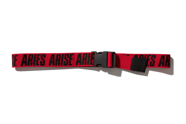 "ARIES ""MADE UP BELT"" (Red)"