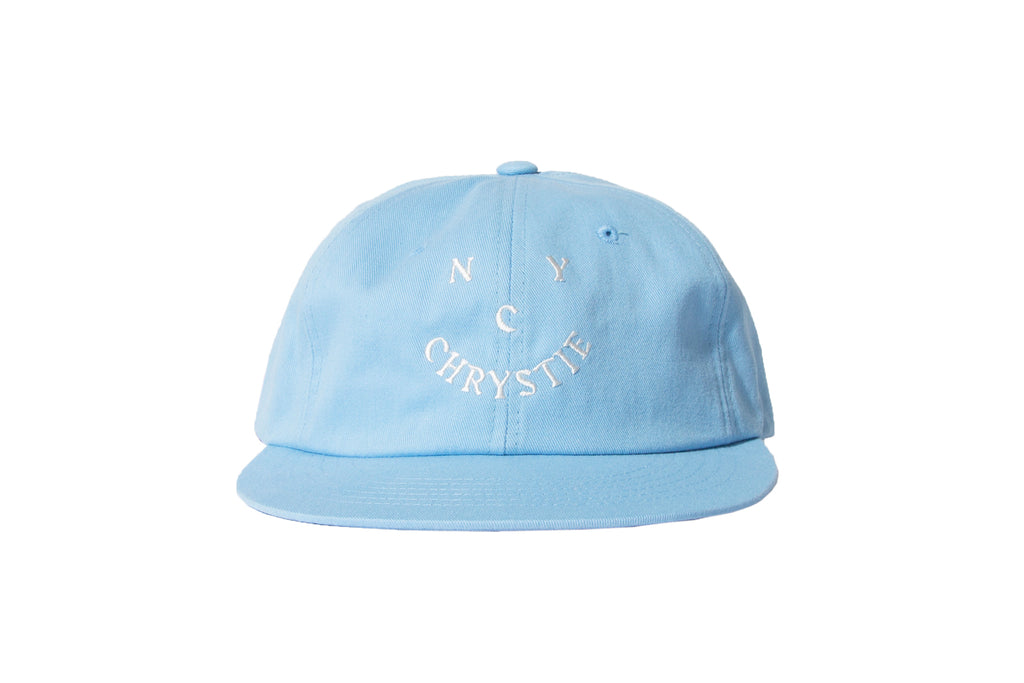 "CHRYSTIE NYC ""SMILE LOGO HAT"" (Blue)"