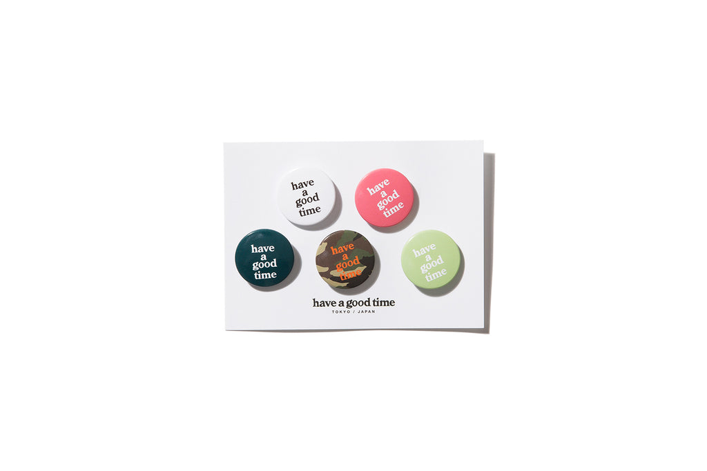 "have a good time ""CHOCO BADGES (5PACK)"""