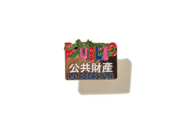 "PUBLIC POSSESSION ""FORTUNE PIN"""