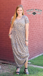 MAD FOR LEOPARD MAXI DRESS - CRAZY TRAIN CLOTHING