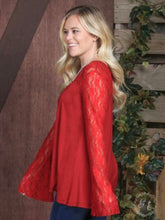 The Holiday Blouse - Red