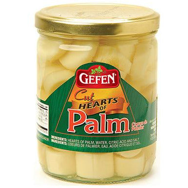 Gefen Hearts Of Palm Cut Jar 412G