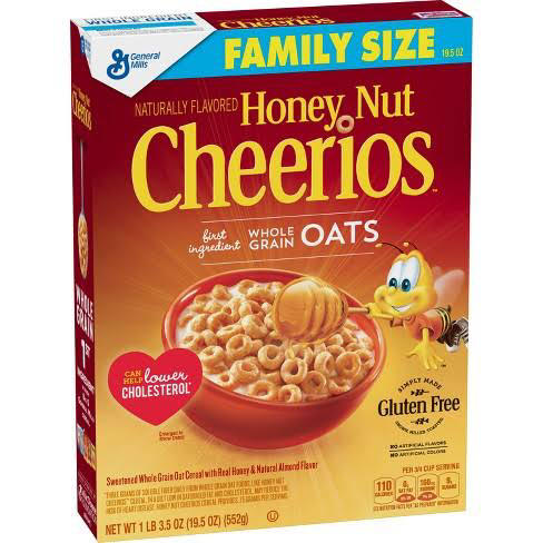 Honey Nut Cheerios 552g