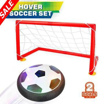 Hovering Soccer Ball With Goal Set - Save and Shop Collections