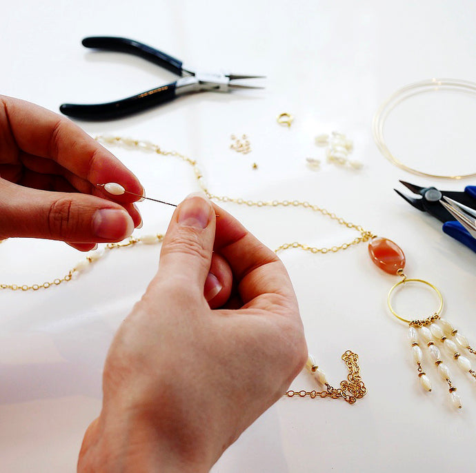 Meet the Jewellery Makers: Why we like working with semi precious stones