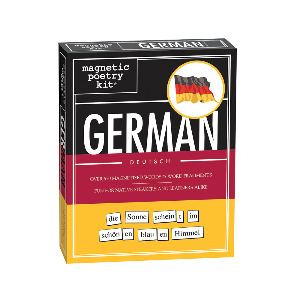 German Magnetic Poetry