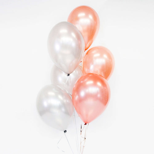Bouquet of 6 Balloons - Pick your colour