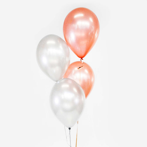 Bouquet of 4 Balloons - Pick your colour