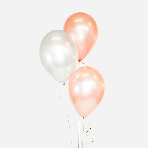 Bouquet of 3 Balloons - Pick your colour