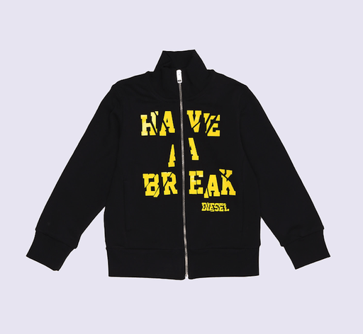Diesel Cardigans 16Y / Gris Veste Have a break Have a break vest