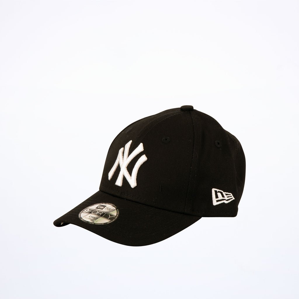 New Era Kids NY Yankees Black 9Forty Adjustable