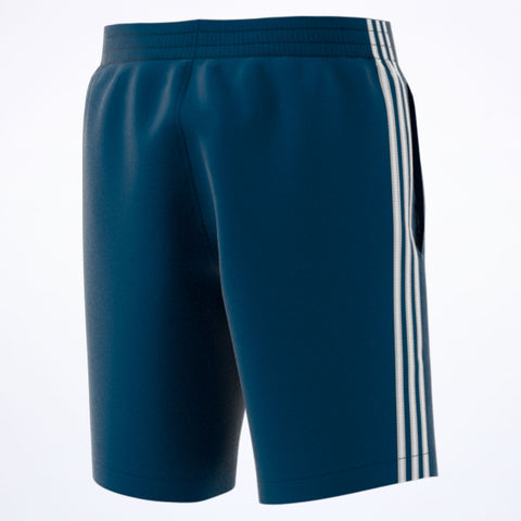adidas 3-Stripes Swim Shorts blue