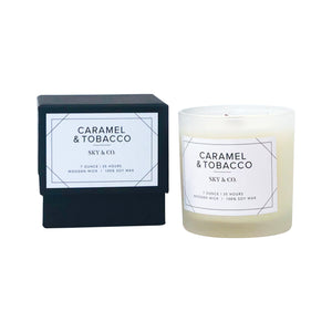 Caramel & Tobacco Candle