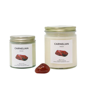 Carnelian Candle - Crystal Infused Candle