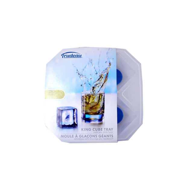 TRUDEAU KING CUBE ICE TRAY, KITCHEN, Styles For Home Garden & Living, Styles For Home Garden and Living